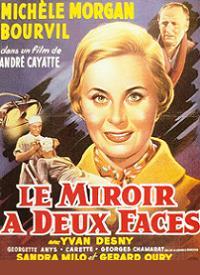 Le miroir à deux faces affiche